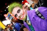 Участник фестиваля поп-культуры Comic Con в Сан-Диего. США.