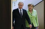 Путин встретится с Меркель в конце недели. Главной темой станет Сирия