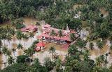 Наводнение в штате Керала в Индии.