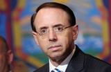 Bloomberg: замгенпрокурора США Роб Розенстайн, предлагавший прослушивать Трампа, уходит в отставку