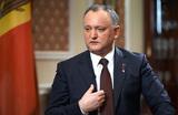 Полчаса не президент. КС Молдовы временно отстранил Игоря Додона от должности