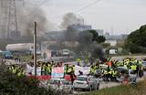 Новый виток топливного бунта во Франции