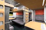 Реновация плацкартных вагонов: пассажирские места с жалюзи, USB-разъемы и розетки