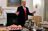 Бигмаки, картошка фри и пицца: Трамп за свой счет купил фастфуд для приглашенных спортсменов