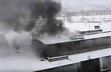 В Санкт-Петербурге сгорела бывшая типография, есть погибший