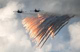 ЧП с бомбардировщиками в небе на Дальнем Востоке: столкнулись два Су-34
