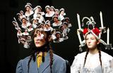 Одна из коллекций осенне-зимнего сезона на неделе моды в Лондоне.