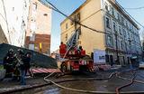 Пожар в Московской консерватории удалось быстро потушить