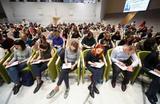 Ежегодная международная образовательная акция «Тотальный диктант» в Инновационном центре «Сколково».