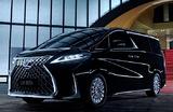 Lexus представил свой первый элитный минивэн