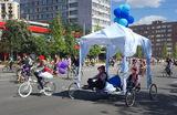 «Отлично покатались!» В Москве состоялся велопарад