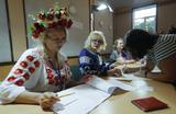 На Украине проходят внеочередные выборы в Верховную раду