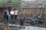 После пожара в палаточном лагере «Холдоми» задержан сотрудник МЧС