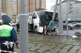 В аварии с туристическим автобусом на шоссе Энтузиастов пострадали 29 человек