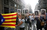 В Барселоне проходят массовые акции против ареста каталонских политиков