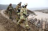 В Красноярском крае продолжаются поиски пострадавших на месте прорыва дамб