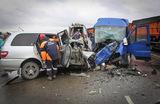 В ДТП на Алтае погибли восемь человек, еще 16 пострадали