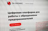 В России заработал сервис для сбора жалоб предпринимателей на давление силовых структур