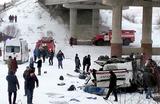Девятнадцать человек погибли в аварии с автобусом в Забайкалье