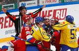 Большой хоккей в Москве: Россия начала Кубок Первого канала с поражения