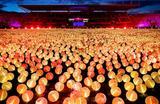 Тысячи фонарей зажгли в Амстердаме в рамках акции The Dutch Cancer Society в поддержку борьбы с раком.