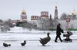 В Москву на день заглянет зима