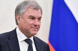 Володин попытался ответить на вопрос о поправках в конституцию — понятнее не стало