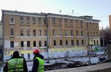 «Архнадзор»: доходный дом XIX века сносят на Старой Басманной улице в Москве