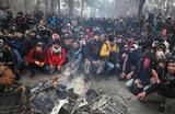 На границе Турции и Греции собрались тысячи сирийских беженцев