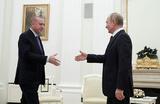 В Москве прошла встреча Путина и Эрдогана