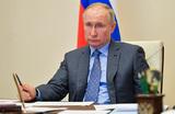 Путин заявил, что ситуация с коронавирусом в России осложняется