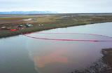 В Норильске собрали более 700 тонн нефтяной смеси после аварии