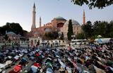 Собор Святой Софии стал мечетью Айя-София