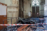 «Сейчас это смерть, он умер». При пожаре в соборе Святых Петра и Павла в Нанте очень сильно пострадал орган