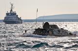 В Керченском проливе на патриотической акции утонула бронемашина