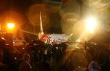 Самолет Air India при посадке в штате Керала выкатился за пределы взлетной полосы и развалился