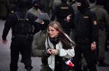 На несанкционированной акции протеста в Минске идут задержания