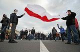 На протестных акциях в Белоруссии задержаны сотни человек