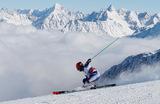 Чемпион мира в гигантском слаломе норвежец Хенрик Кристофферсен на Кубке мира по горнолыжному спорту в Зельдене. Австрия.