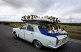 На дороге в Азербайджане.