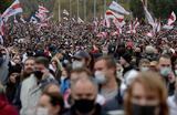 Марш протеста оппозиции в Минске закончился задержаниями и применением спецсредств силовиками