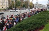 Очередной день протестов в Белоруссии завершился задержаниями