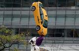 Скульптура «Далматин» на Манхэттене в Нью-Йорке.