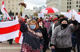 Ставший традиционным марш пенсионеров в Минске «пошел не по привычному сценарию»
