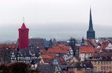Самая большая в мире Рождественская свеча в немецком Шлитце.