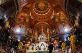 Празднование Рождества в городах России