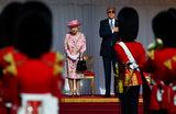 Королева Великобритании Елизавета и президент США Джо Байден в Виндзорском замке.