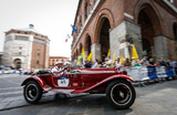 Гонка ретроавтомобилей Mille Miglia стартовала в Италии.