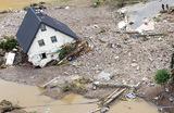 Последствия проливных дождей на Западе Германии.