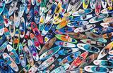 Фестиваль SUP-серфинга «Фонтанка-SUP — 2021» в Санкт-Петербурге.
